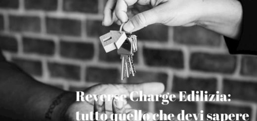 Reverse Charge Edilizia guida